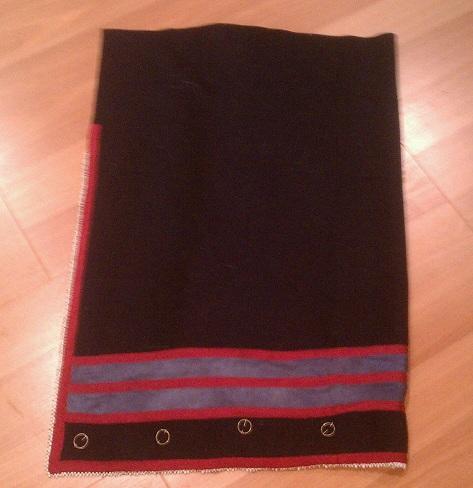 Abenaki wrap skirt